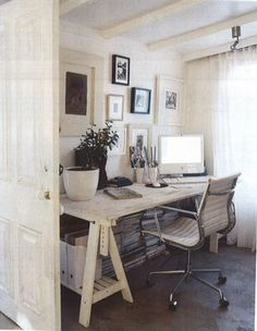 Pretty small home office. It is possible.