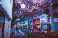 10 прекрасных фотографий ночного Токио