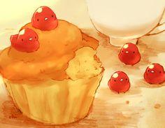 「ドレンチェリーのプチケーキ」/「チャイ」のイラスト [pixiv]