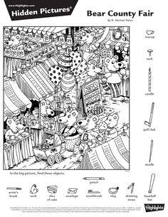 2016년 9월 숨은그림찾기 9페이지 Hidden Pictures : 네이버 블로그 Hidden Object Puzzles, Hidden Picture Puzzles, Hidden Objects, Color Activities, Craft Activities For Kids, Kindergarten Activities, Highlights Hidden Pictures, Hidden Pictures Printables, Hidden Words