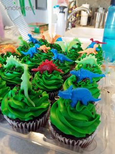 Sharing details of our DIY, dinosaur birthday party planned to celebrate our little guy turning three years old! From cupcakes to decorations, we have it!