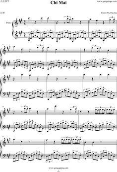 Ennio Morricone; Chi Mai, bladmuziek.