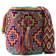 Мочила (Mochila) – like the colors Tapestry Bag, Tapestry Crochet, Knit Crochet, Crochet Bags, Mochila Crochet, Boho Bags, Craft Bags, Clutch, Knitted Bags