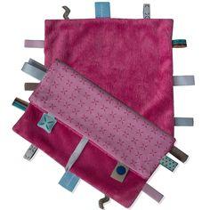 Doudou Sweet Dreaming Funky pink : Snoozebaby - Doudou étiquettes - Berceau Magique
