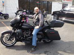 Matt Gasparro & his new Custom FLHX