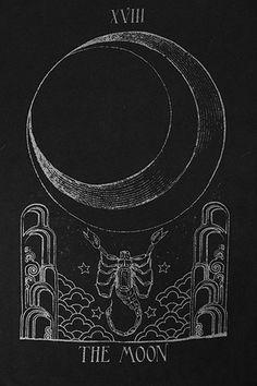 arcano XVIII la luna