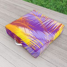 Tropical Sunset Outdoor Floor Cushion by scardesign Outdoor Floor Cushions, Outdoor Blanket, Tropical Decor, Sunset, Decoration, Outdoor Decor, Modern, Gifts, Design