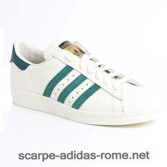 online store f600a 81320 Uomo Donna Adidas Superstar 80s Vintage Deluxe Scarpe Bianche Collegiate  Verdi B35981-GM0735 (Adidas Nuove)