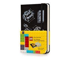 LEGO® - Cuaderno Edición Limitada - Bolsillo - Liso - Negro - Moleskine ®