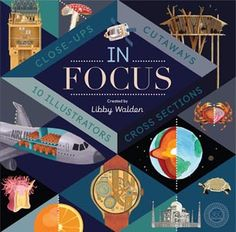 (360 Degrees) Ten illustrators place ten subjects under the microscope to help readers look beneath the surface. From famous landmarks to fruit and the natural world to vehicles, this book offers a fresh perspective by looking at 101 wonders of the world from the outside, in.