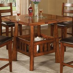 Coaster Fine Furniture 102158 Lavista Counter Height Dining Table