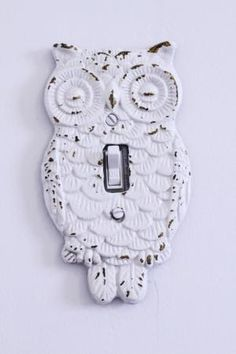 Owl Light Switch by jezi.jay