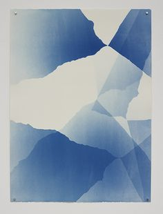Sunah Choi. Wiener Blau #30, 2013 Cyanotype on paper 76 x 56 cm / 30 x 22 in