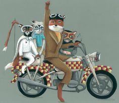 The Fantastic Mr. Fox print on Etsy  The Black Sheep Studio