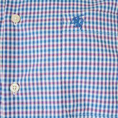 Carson Multi Colour Gingham Check Short Sleeve Shirt by Carson