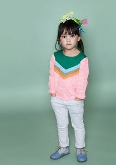 ideas for fashion kids clothes sweets Fashion Kids, Little Girl Fashion, Toddler Fashion, Look Fashion, Fashion Outfits, Kids Girls, Baby Kids, Bebe Love, Kid Outfits