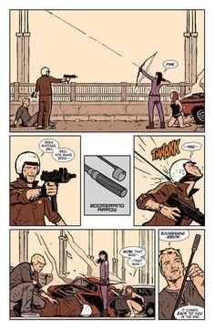 Matt Fraction's Hawkeye - BOOMERANG ARROW