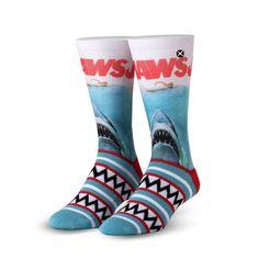 Crazy Socks, Cool Socks, Shark Socks, Wife Mom Boss, Custom Socks, Next Fashion, Novelty Socks, Blue And White, Sharks