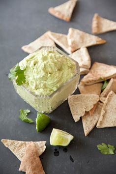 Avocado Goat Cheese Dip