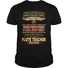 (Tshirt Coupon Today) FLUTE-TEACHER [Tshirt design] Hoodies