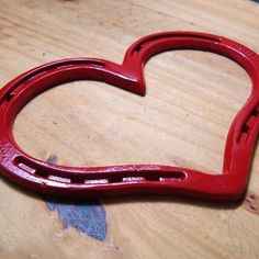 Heart horseshoe