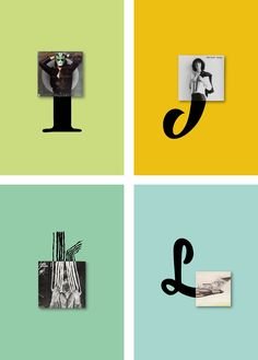 Vinyls Alphabet is a unique take on the latin alphabet with the help of 26 vinyls and illustrated letters.