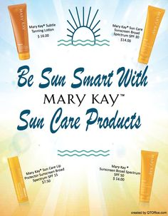 All Mary Kay SunCare products are Broad Spectrum UVA/UVB and endorsed by the Skin Cancer Foundation! Check them out on my website: http://www.marykay.com/alisadutka or in person with me! ~ Alisa (cell: 609-923-2763)