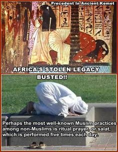The truth is staring us right in the face. I am not knocking anyone's religion. I just want you to know the truth. Ancient Egypt, Ancient History, Black History Facts, My Black Is Beautiful, Moorish, African American History, World History, Black People, African Art