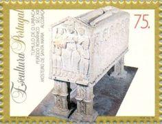 Sello: Sculptures (Portugal) (Sculptures) Mi:PT 2027,Sn:PT 2007a,Yt:PT 2005,Afi:PT 2225