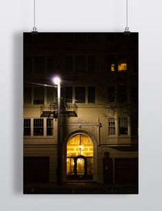 Night in San Francisco Poster