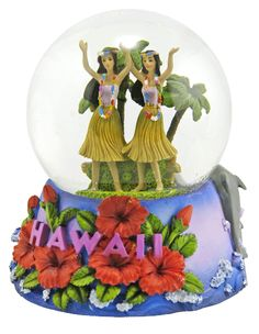 Hawaii snow globe from  snowdomes.com