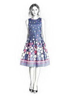 4278 PDF Dress Sewing Pattern  Women Clothes van TipTopFit op Etsy