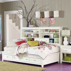 This bed has tons of storage!