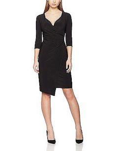 10, Black, Wallis Women's Plain Dress NEW