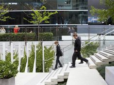Brookfield Place­ | Perth, Australia | HASSELL   #plaza, commercial, landscape, hassell, perth, greenwall, green wall