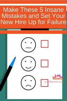 Thwart Success by Making these 3 HUGE Mistakes when hiring. Talent Management, Team Member, Making Mistakes, Workplace, Challenges, Success, Running, Feelings, How To Make