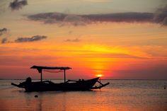 Sunset @ Jerman Beach Bali