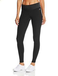 New Balance Women's Achieve Leggings, Black, Medium  Go to the website to read more description.