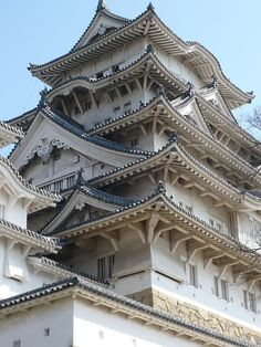 Himeji-jo[Shirasagi-jo] /Hyogo.japan/ National treasure / Important cultural property of the country / Designated historic spot of the country / World heritage / Existing castle was built in 1609