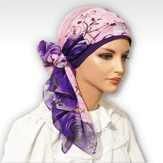 Comfortable Lightweight Elegant Scarf with matching Cap