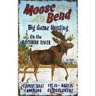 Scandinavian Swedish Christmas Poster Print Moose Tomte Gnome J Bergerlind B0532 | eBay