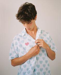 Summer 2020 Self, Button Down Shirt, Men Casual, Mens Tops, How To Wear, Shirts, Bar, Summer, Fashion