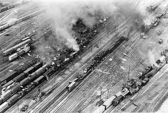 PHOTOS: 1974 Norfolk 1974 Norfolk & Western Railway Co. Explosion 1 On July 19, 1974 Decatur was rocked by an explosion in the Norfolk & Western Railway Co. switching yards. The blast decimated surrounding residential areas of the city's far east side. Seven railroad employees died and over 100 people were injured. To see a gallery of images related to the blast go to www/herald-review.com/gallery