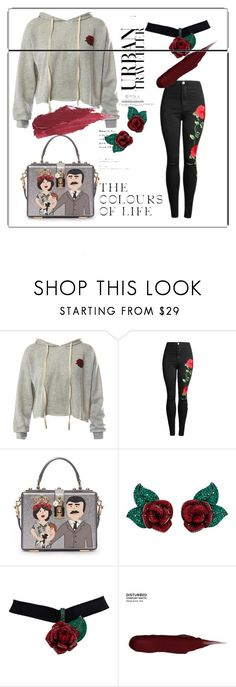 """""""4444"""" by neiracilovic-i ❤ liked on Polyvore featuring Sans Souci, Dolce&Gabbana, Atelier Swarovski, Urban Decay and Lily Lolo"""