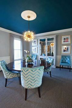 ceiling colored - Living Room Ceiling Colors
