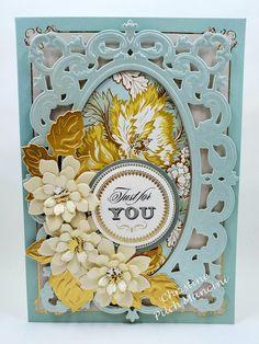 Finishing School, Anna Griffin Cards, Iris Folding, School Community, Metallic Paper, Square Card, Adore You, Pretty Cards