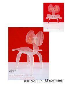 venus chair - Modern Acrylic Furniture by Aaron R. Thomas