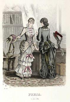 Freja - Illustrerad Skandinavisk Modetidning (Swedish) 1882