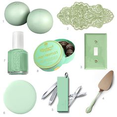 Color Obsession of the Week: Mint