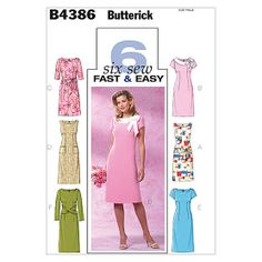 Butterick Dres Pattern - E dress with C sleeves - maybe not quite as long, though.